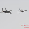 2006 TCF Bank Air Expo 776 - US Air Force Heritage Flight - P51 Mustang & F15 Eagle