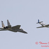 2006 TCF Bank Air Expo 495 - US Air Force Heritage Flight - P51 Mustang & F15 Eagle