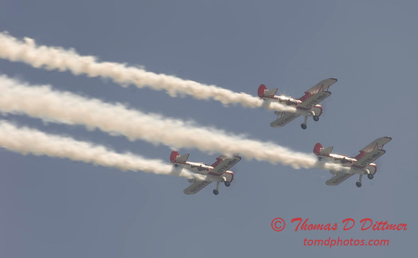 2006 TCF Bank Air Expo 413 - Red Baron Squadron - Stearman