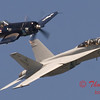 2006 TCF Bank Air Expo 540 - US Navy Tailhook Legacy Flight - F18 Hornet & F4U Corsair
