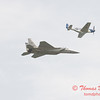 2006 TCF Bank Air Expo 775 - US Air Force Heritage Flight - P51 Mustang & F15 Eagle