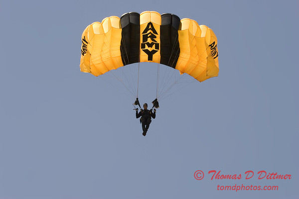 2006 TCF Bank Air Expo 440 - US Army - Golden Knights