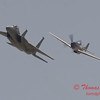 2006 TCF Bank Air Expo 490 - US Air Force Heritage Flight - P51 Mustang & F15 Eagle