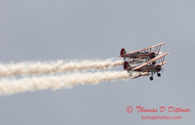 2006 TCF Bank Air Expo 220 - Red Baron Squadron - Stearman