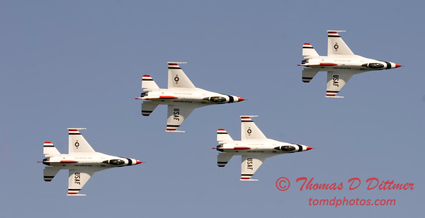2006 TCF Bank Air Expo 568 - Thunderbirds - F16 Falcon