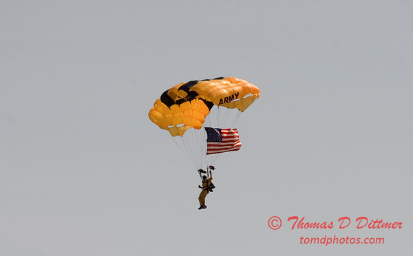2006 TCF Bank Air Expo 625 - US Army - Golden Knights