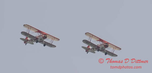 2006 TCF Bank Air Expo 675 - Red Baron Squadron - Stearman