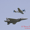 2006 TCF Bank Air Expo 494 - US Air Force Heritage Flight - P51 Mustang & F15 Eagle