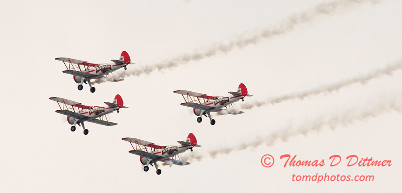 2006 TCF Bank Air Expo 74 - Red Baron Squadron - Stearman