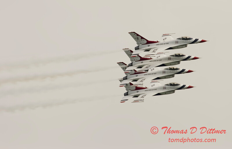 2006 TCF Bank Air Expo 155 - Thunderbirds - F16 Falcon