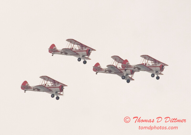 2006 TCF Bank Air Expo 72 - Red Baron Squadron - Stearman