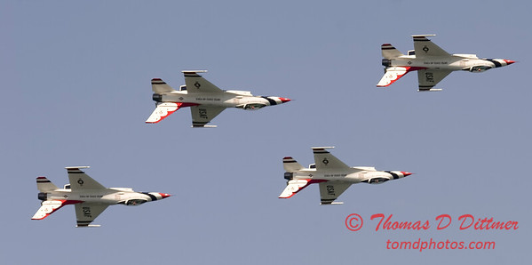 2006 TCF Bank Air Expo 567 - Thunderbirds - F16 Falcon