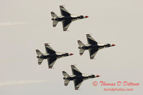 2006 TCF Bank Air Expo 133 - Thunderbirds - F16 Falcon