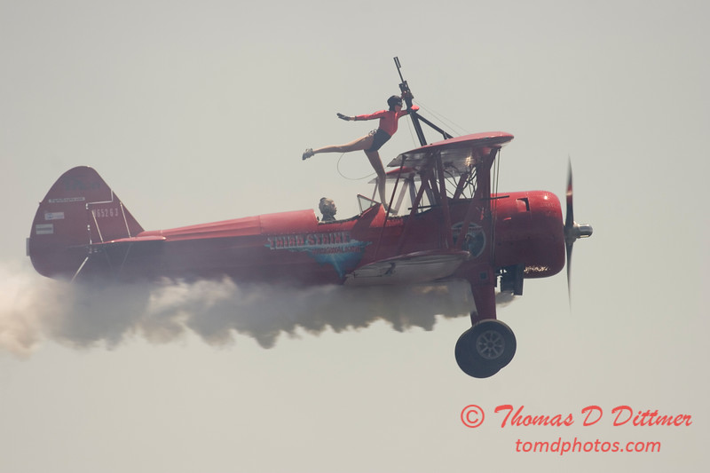 2006 TCF Bank Air Expo 267 - Third Strike Wingwalking - Stearman
