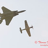 2006 TCF Bank Air Expo 774 - US Air Force Heritage Flight - P51 Mustang & F15 Eagle