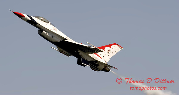 2006 TCF Bank Air Expo 585 - Thunderbirds - F16 Falcon