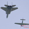 2006 TCF Bank Air Expo 496 - US Air Force Heritage Flight - P51 Mustang & F15 Eagle