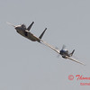 2006 TCF Bank Air Expo 489 - US Air Force Heritage Flight - P51 Mustang & F15 Eagle