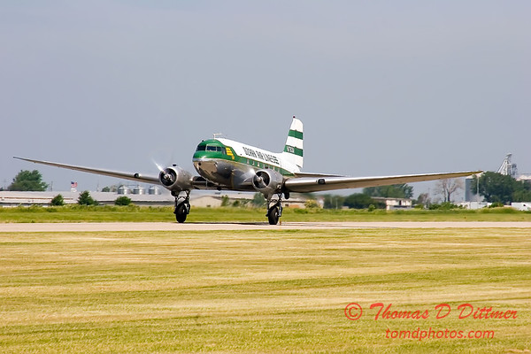 2006 Illinois Valley Air Show 64 - DC-3