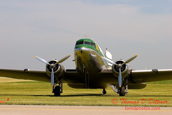 2006 Illinois Valley Air Show 41 - DC-3
