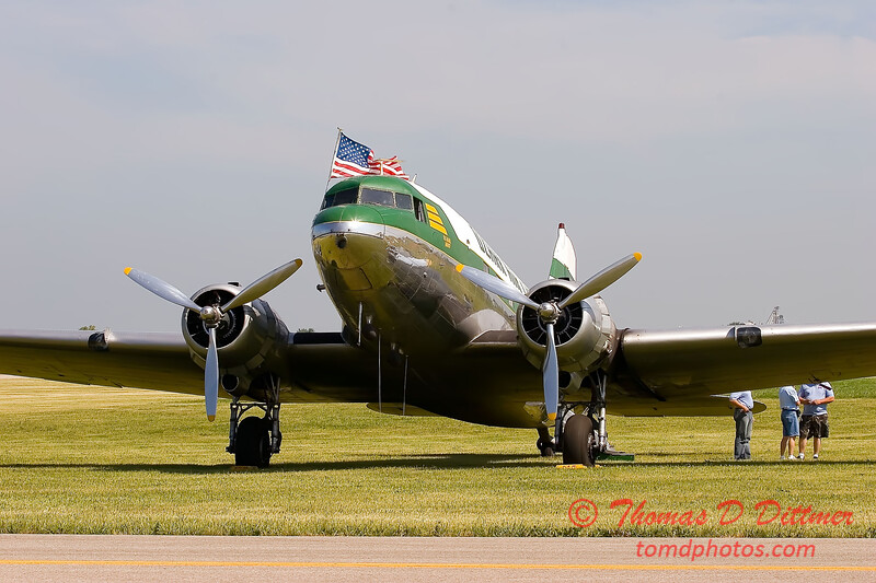 2006 Illinois Valley Air Show 29 - DC-3