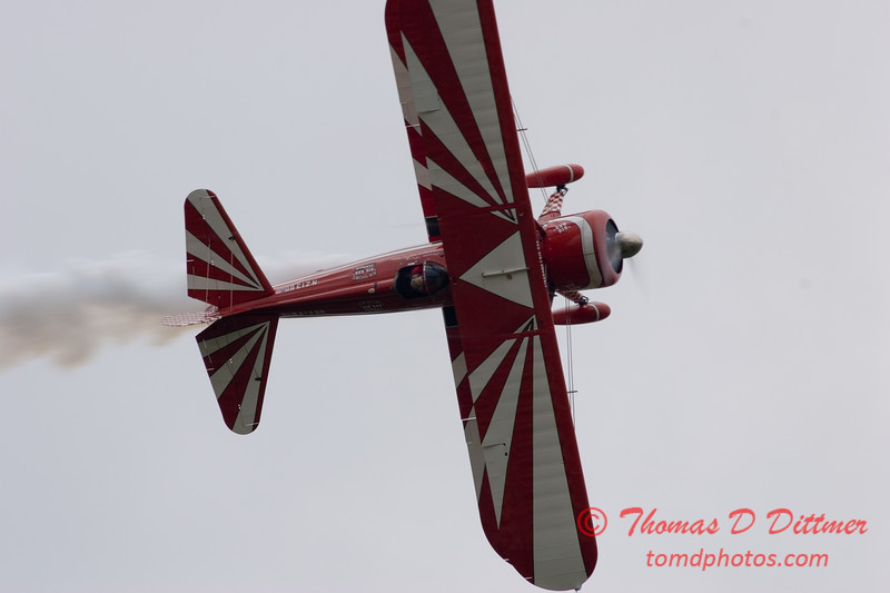 """Lake in the Hills Air Expo 2007 - 21 - Stearman """"Big Red"""" - Susan Dacy - <a href=""""http://airshows.com/dacy"""">http://airshows.com/dacy</a>"""