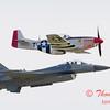 2007 River City Air Expo - 485 - F16 Falcon & P51 Mustang - Heritage Flight