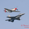 2007 River City Air Expo - 489 - F16 Falcon & P51 Mustang - Heritage Flight