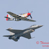 2007 River City Air Expo - 490 - F16 Falcon & P51 Mustang - Heritage Flight