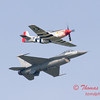 2007 River City Air Expo - 491 - F16 Falcon & P51 Mustang - Heritage Flight