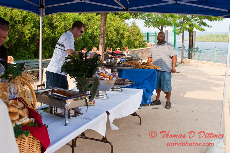 2009 - 7/10 - Prairie Air Show - Catered Cookout - Peoria Riverfront Center - Peoria Illinois -  119