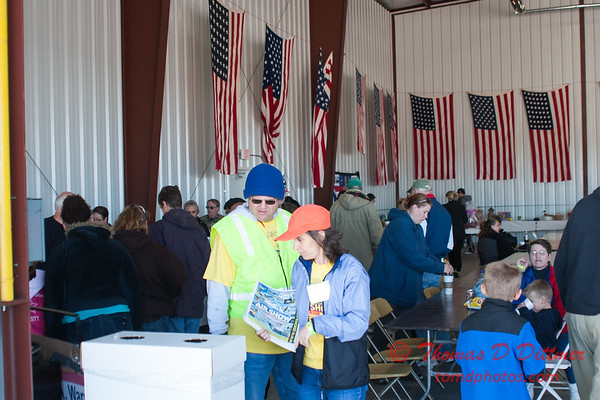 14 - Volunteers and fans at the breakfast prior to the South East Iowa Air Show in Burlington Iowa