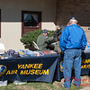 2 - Fans view the memorabilia and merchandise at the South East Iowa Air Show in Burlington Iowa