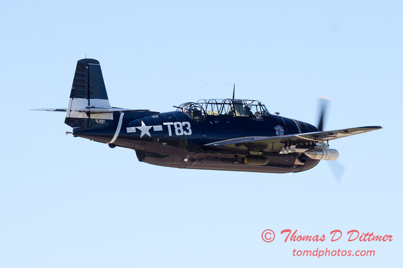 521 - TBM Fly By at the South East Iowa Air Show in Burlington Iowa