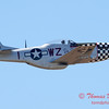 535 - P51 Mustang Fly By at the South East Iowa Air Show in Burlington Iowa