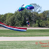 102 - Members of the Liberty Parachute Club drop into the South East Iowa Air Show in Burlington Iowa