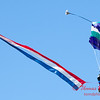 97 - Members of the Liberty Parachute Club drop into the South East Iowa Air Show in Burlington Iowa