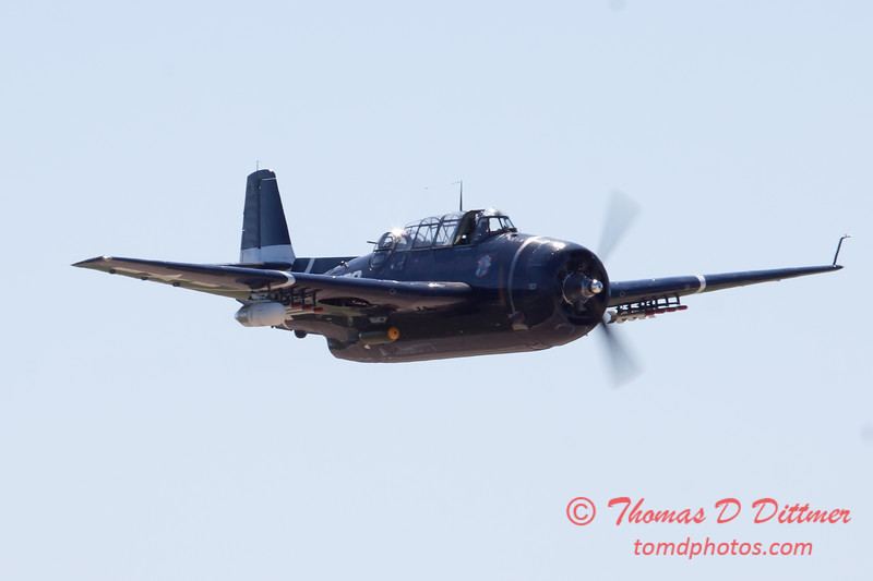 514 - TBM Fly By at the South East Iowa Air Show in Burlington Iowa