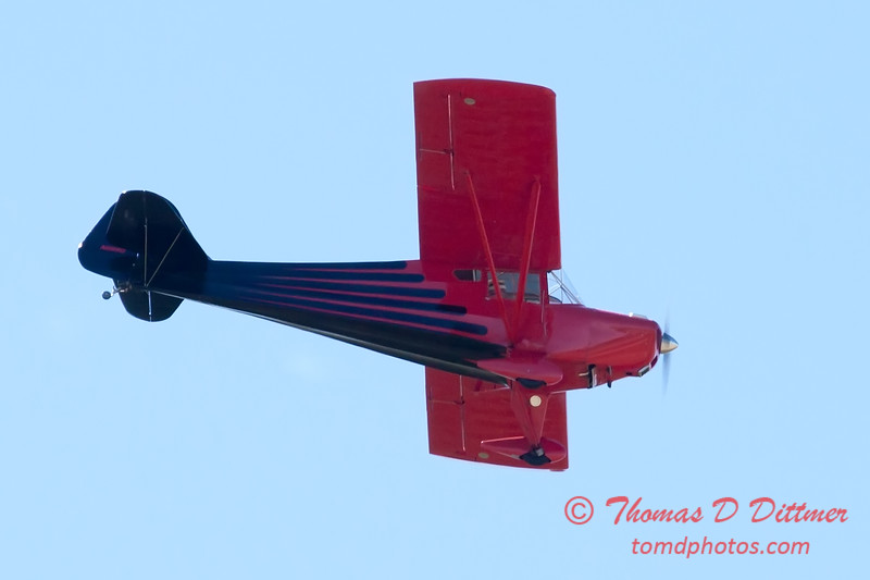 646 - Erik Edgren in his Taylorcraft performs at the South East Iowa Air Show in Burlington Iowa