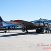 45 - A Boeing B17 Flying Fortress on display at the South East Iowa Air Show in Burlington Iowa