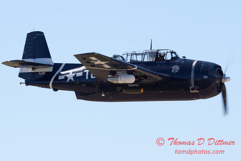 516 - TBM Fly By at the South East Iowa Air Show in Burlington Iowa