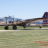354 - A Boeing B17 taxies for departure at the South East Iowa Air Show in Burlington Iowa