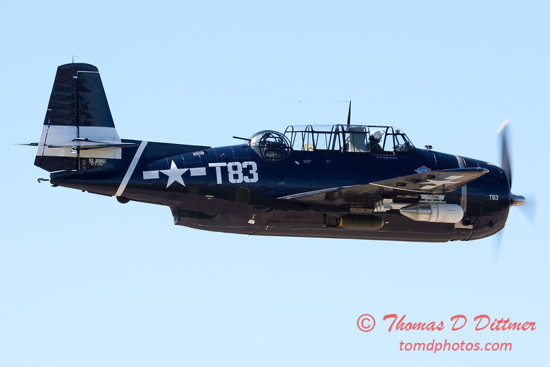 519 - TBM Fly By at the South East Iowa Air Show in Burlington Iowa