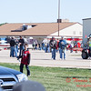 74 - Air show fans and spectators make their way to the showline at the South East Iowa Air Show in Burlington Iowa