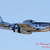 446 - P51 Mustang departure at the South East Iowa Air Show in Burlington Iowa