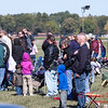 86 - Air show fans and spectators stand in observance of the singing of the National Anthem at the South East Iowa Air Show in Burlington Iowa