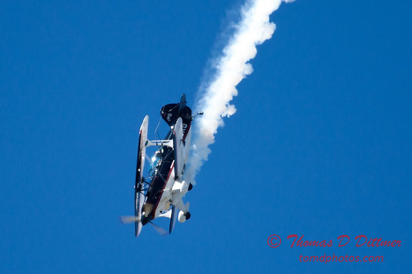 183 - Dick Schulz and the Raptor Pitts perform at the South East Iowa Air Show in Burlington Iowa
