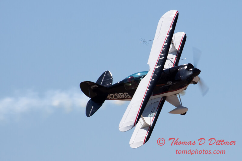 210 - Dick Schulz and the Raptor Pitts perform at the South East Iowa Air Show in Burlington Iowa