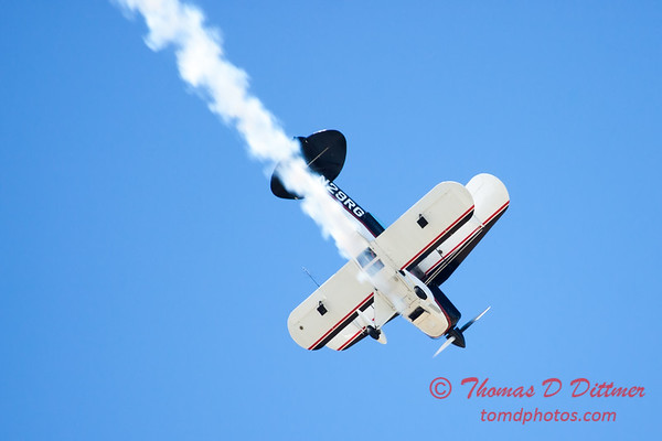 225 - Dick Schulz and the Raptor Pitts perform at the South East Iowa Air Show in Burlington Iowa