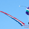 96 - Members of the Liberty Parachute Club drop into the South East Iowa Air Show in Burlington Iowa